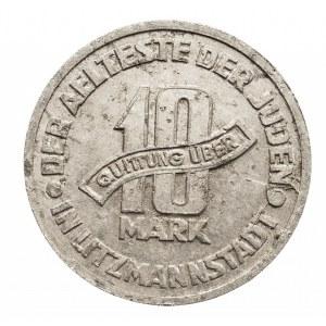Polska, Getto w Łodzi, 10 marek 1943 aluminium