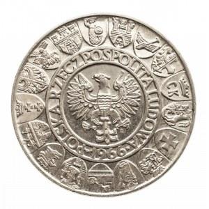 Polska, PRL 1944-1989, 100 złotych 1966 Mieszko i Dąbrówka