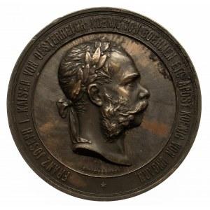 Austria, medal Ogólnoświatowa Wystawa w Wiedniu 1873, Franciszek Józef I
