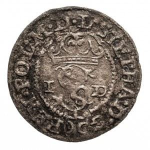 Polska, Stefan Batory 1576-1586, szeląg 1585,Olkusz,litery G-H