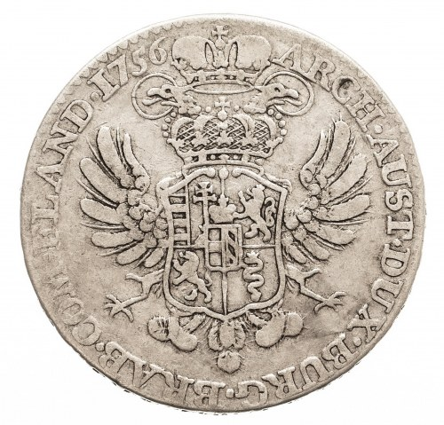 Austria, Niderlandy, Maria Teresa, 1/2 talara 1756, Bruksela (1)