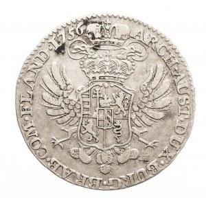 Austria, Niderlandy, Maria Teresa, 1/2 talara 1756, Bruksela (3)