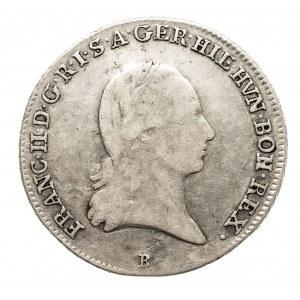 Austria, Niderlandy, Franciszek II, 1/4 talara 1793 B, Kremnica (1)