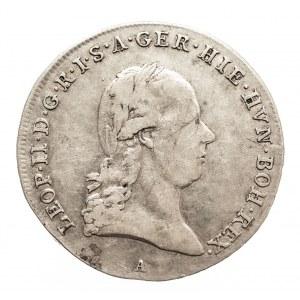 Austria, Niderlandy, Leopold II, 1/4 talara 1792 A, Wiedeń (2)