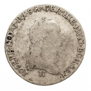 Austria, Niderlandy, Józef II, 1/4 talara 1788 H, Gunzburg
