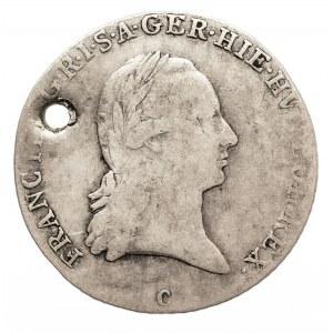 Austria, Niderlandy, Franciszek II, 1/4 talara 1795 C, Praga