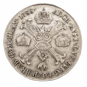 Austria, Niderlandy Józef II, 1/2 talara 1788 A, Wiedeń (4)