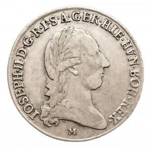 Austria, Mediolan pod panowaniem Habsburgów, Józef II, 1/2 talara 1787 M, Mediolan