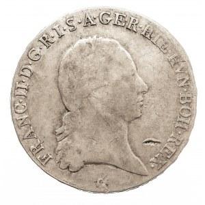Austria, Niderlandy Franciszek II, 1/2 talara 1797 C, Praga (2)