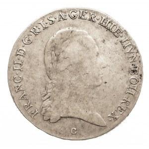 Austria, Niderlandy Franciszek II, 1/2 talara 1797 C, Praga (3)