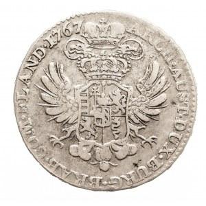Austria, Niderlandy, Maria Teresa, 1/2 talara 1767, Bruksela