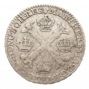 Austria, Niderlandy, Maria Teresa, 1/2 talara 1759, Bruksela