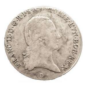 Austria, Niderlandy Franciszek II, 1/2 talara 1797 C, Praga (6)