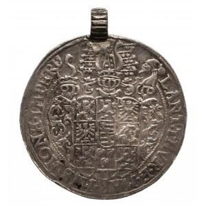 Niemcy, Saksonia-Koburg-Eisenach (Alr-Gotha), Jan Kazimierz i Jan Ernest 1572-1633, talar 1585, Saalfeld