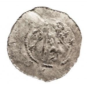 Czechy, Ołomuniec. Władysław I, jako udzielny książe 1110-1113, denar (2))