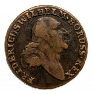 Prusy Południowe, Fryderyk Wilhelm II 1786-1797, trojak 1797 B, Wrocław