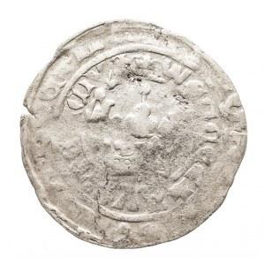 Czechy, Wacław IV (III) (1378–1419), grosz praski, Kutna Hora.