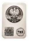 Polska, Rzeczpospolita Polska od 1989, 20 złotych 2008 SOKÓŁ.
