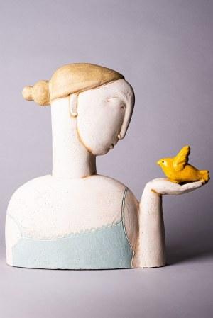 Stella Zadros, Kobieta z ptakiem