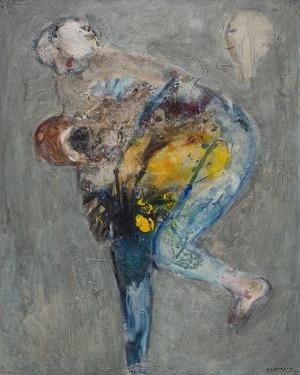 Andrzej Kasprzak, Waiting for blue wind I, 2011