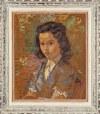 Maurice MENDJIZKY (1890 - 1951), Portret młodej dziewczyny, 1935/ 1945? r