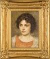 Simon GLÜCKLICH (1863 - 1943), Portret kobiety