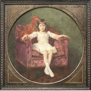 Hermann KAUFFMANN (1873 - 1953), Portret dziewczynki, 1914 r.