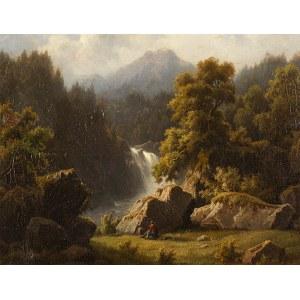 Otto PRESS (zm. 1888), Wędrowiec w górach