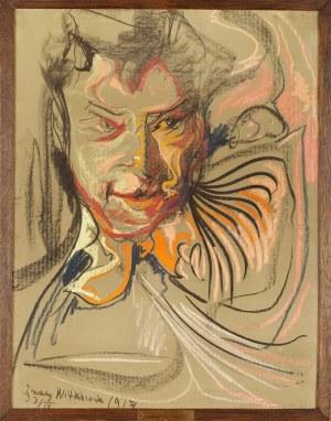 Stanisław Ignacy Witkiewicz Witkacy (1885-1939), Portret męski