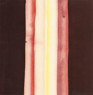 Stefan GIEROWSKI (ur. 1925), kompozycja 2 z teki Konfrontacje, 1975