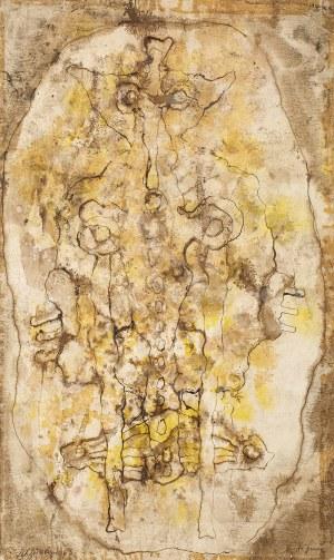 Jan LEBENSTEIN (1930 - 1999), Figura, 1963