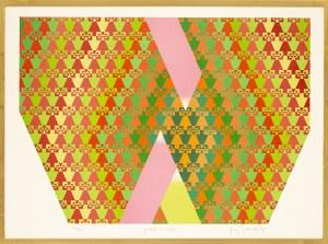 Jerzy GRABOWSKI (1933 - 2004), Gradacja na trójkąt, 1969