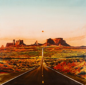 Piotr SZCZUR (ur. 1987), Road to the monument valley, 2019