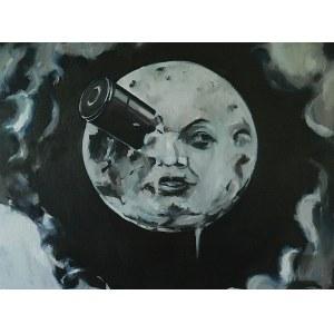 Tomasz Kozłowski (ur. 1982), Podróż na księżyc, z cyklu Ruchome obrazy
