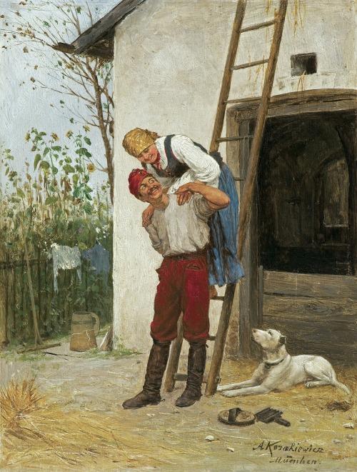 Kozakiewicz Antoni, ZALOTY, OK. 1880