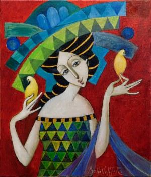 Jan Bonawentura, Dziewczyna z ptaszkami, 2020