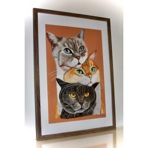 Paulina Pączka, Trzy kotki