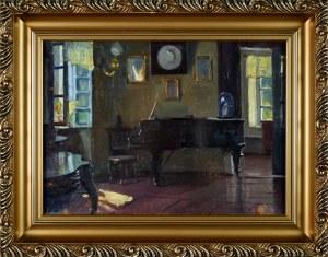 Bronisława RYCHTER - JANOWSKA (1868-1953), Wnętrze starego dworku