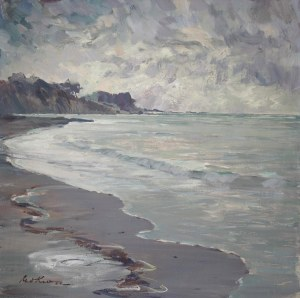 Marian MOKWA (1889-1987), Brzeg morza w zatoce gdańskiej