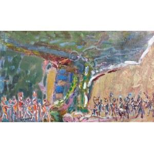 Jan WODYŃSKI (1903-1988), Scena batalistyczna