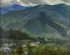 Kazimierz BRZOZOWSKI (1871-1945), Pejzaż z Tatr, 1942
