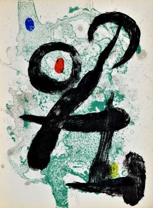 Joan MIRÓ (1893-1983), Le Faune, 1963