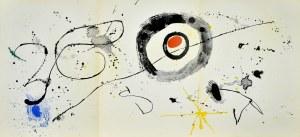 Joan MIRÓ (1893-1983), Abstrakcja, 1963