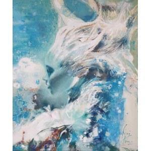 Andrzej Filipowicz- NAJADA 50 x 60 cm.