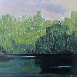 Olena Horhol, Zielony staw, 2018