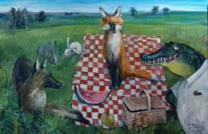 Marcelina Siwiec (ur. 1990), Piknik, 2020