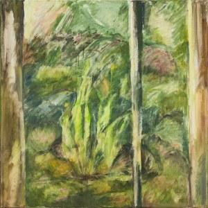 Ewa Ludwikowska (ur. 1956), Wiosna za oknem I, 2020