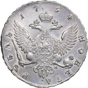 Russia Rouble 1754 СПБ-IM- Elizabeth (1741-1762)