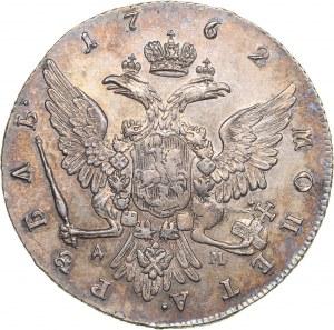 Russia Rouble 1762 ММД-ДМ - Catherine II (1762-1796)