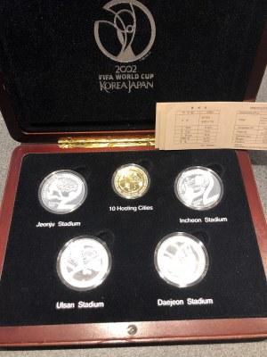Additional lot: South Korea coins set 2002 FIFA